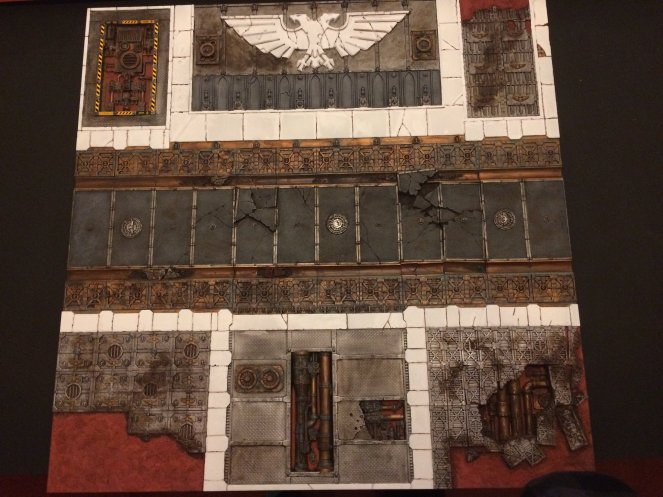 40K Sector Imperialis Tile #1