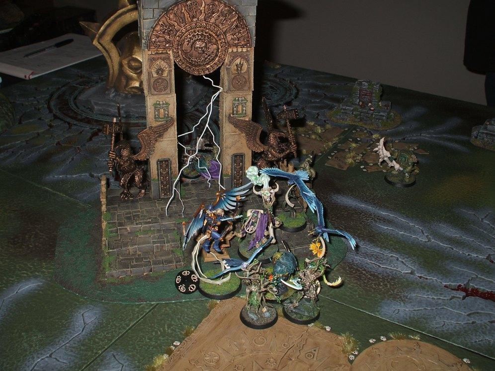 Game 4 - the big scrap