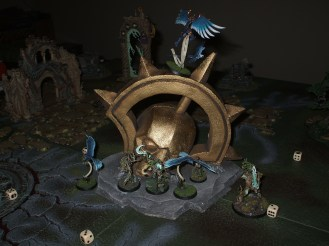 Game 5 - the forces of Order defend the Impossible Statue